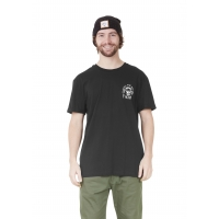 Tee Shirt Picture Bones Black 2021