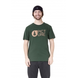 Tee Shirt Picture Basement Cork Forest Green 2021 pour homme