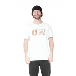 Tee Shirt Picture Basement Cork White 2021 pour homme, pas cher