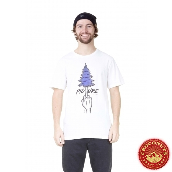 Tee Shirt Picture Pine White 2021