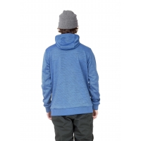 Midlayer Picture Baxter Tech Zip Blue Melange 2021
