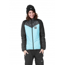 Midlayer Picture Murakami Turquoise 2021 pour femme, pas cher