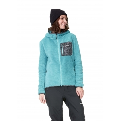 Midlayer Picture Izimo Bird Blue 2021 pour femme, pas cher