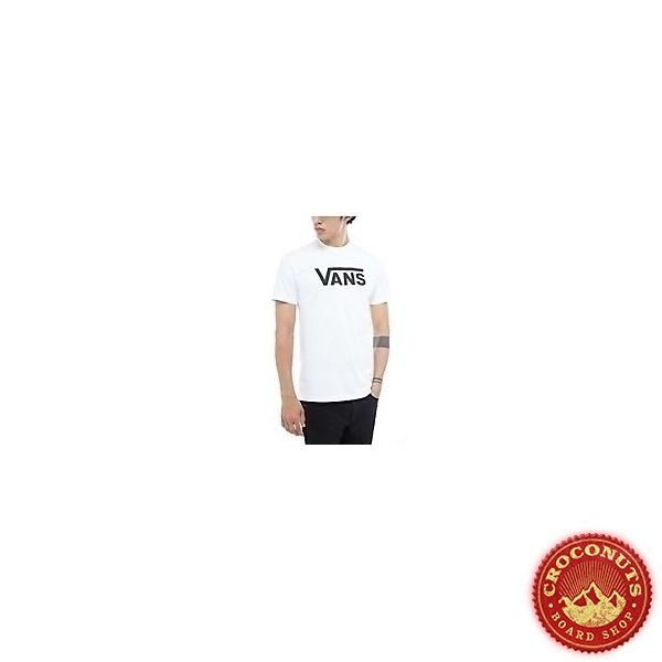 Tee Shirt Vans Classic White Black 2021