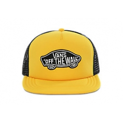 Casquette Vans Classic Patch Trucker Lemon Chrome 2021 pour homme