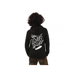 Sweat Vans Break Bones Boys Black 2021 pour junior