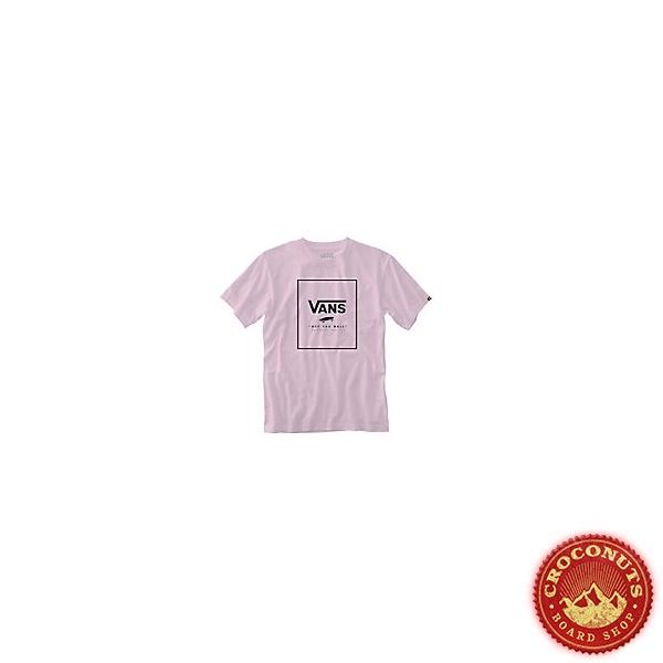 Tee Shirt Vans Print Box Cool Pink 2021