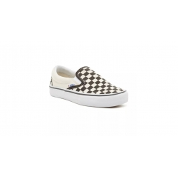 Shoes Vans Slip On Pro Black White Checkerboard 2020 pour
