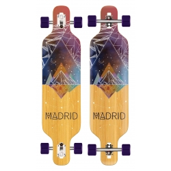 Longboard Madrid Trance Drop Thru Space Mountain Bamboo 2020 pour homme, pas cher