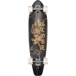 Longboard Globe The All Time Black Rose 2020 pour homme