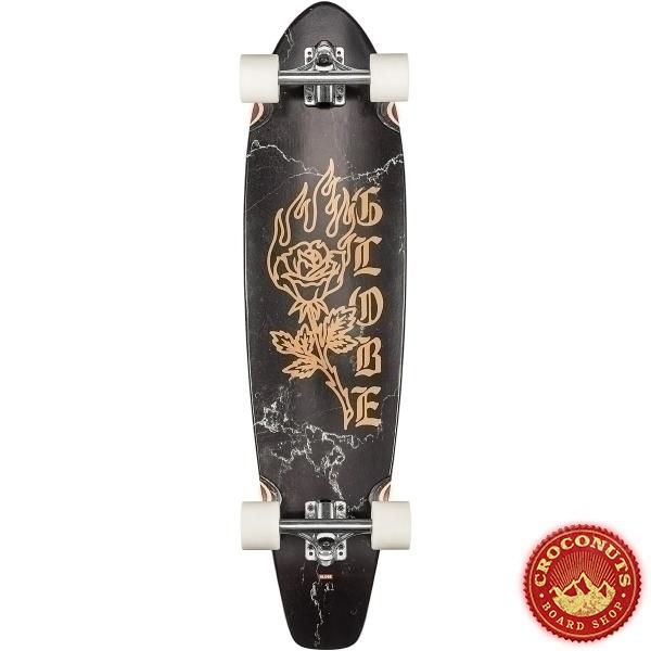 Longboard Globe The All Time Black Rose 2021