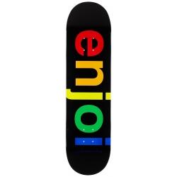 Deck Enjoi Spectrum R7 Black 8.25 2021 pour homme