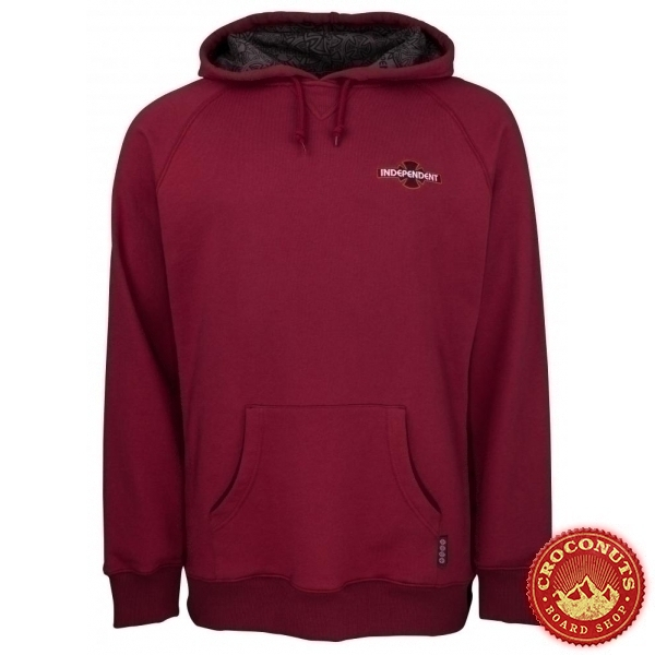 Sweat Independent Array Raglan Oxblood 2020