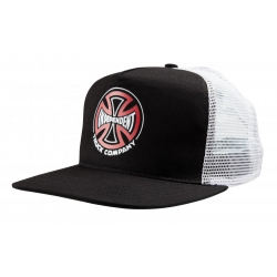 Casquette Independent Converge Meshback Black White 2020 pour