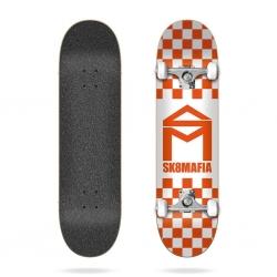 Complète Sk8mafia House Logo Checker Orange 8 2020 pour