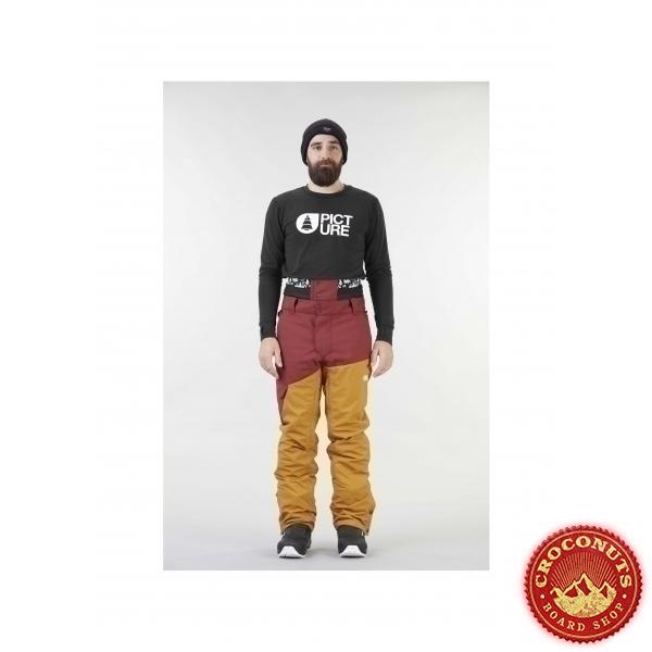 Pantalon Picture Panel Ketchup Camel 2021