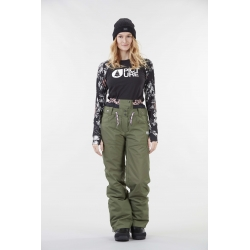 Pantalon Picture Slany Army Green 2021 pour femme, pas cher