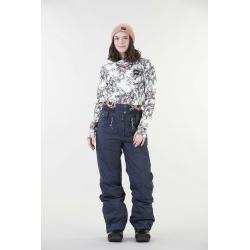 Pantalon Picture Treva Dark Blue 2021 pour femme, pas cher