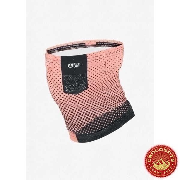 Neckwarmer Picture Pink Logo 2021