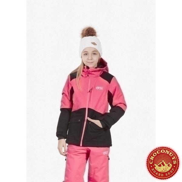 Veste Picture Leeloo Neon Pink Black 2021