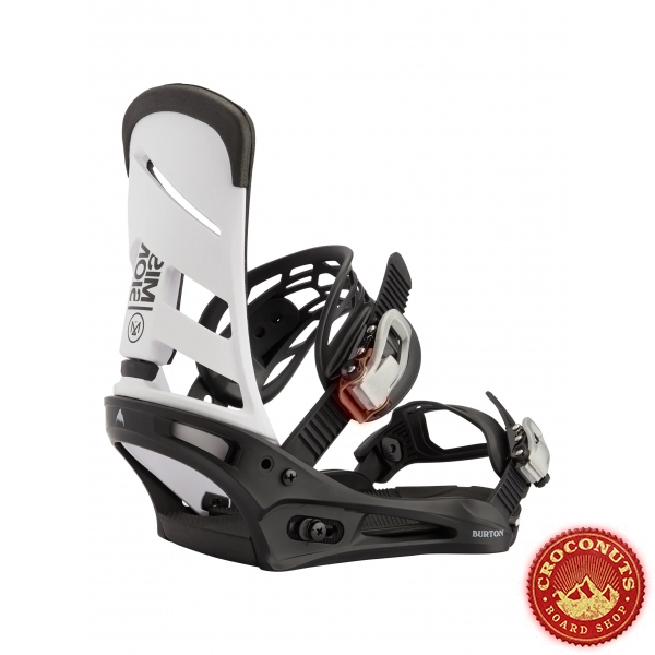 Fixations Burton Mission White Black 2021