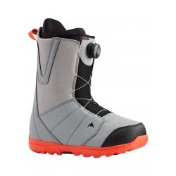 Boots Burton Moto Boa Gray Red 2021 pour homme, pas cher