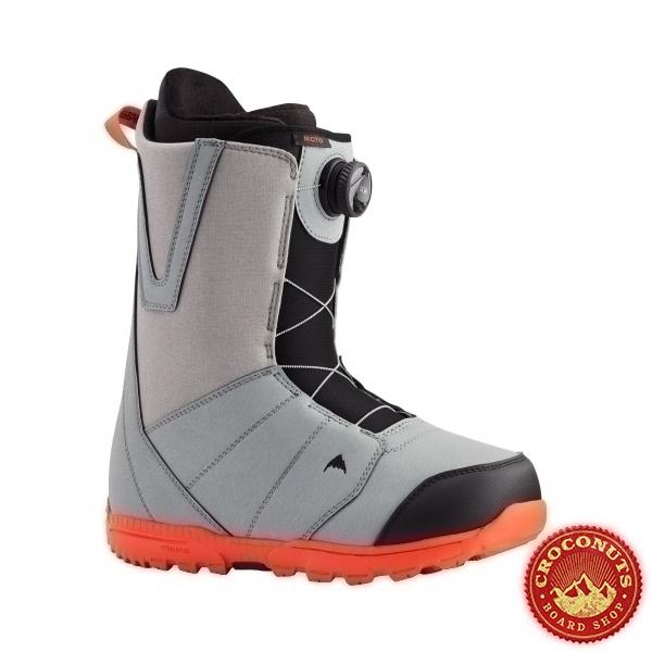 Boots Burton Moto Boa Gray Red 2021