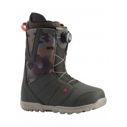 Boots Burton Moto Boa Dark Green Camo 2021 pour homme, pas cher