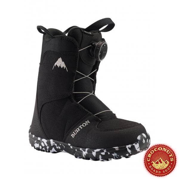 Boots Burton Grom Boa Black 2021