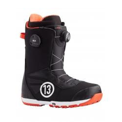 Boots Burton Ruler Boa Black Red 2021 pour homme, pas cher