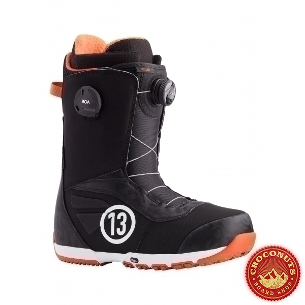 Boots Burton Ruler Boa Black Red 2021