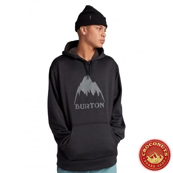 Fleece Burton OAK PO True Black 2021