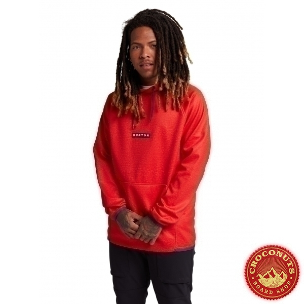 Fleece Burton Crown WPF PO Flame Scarlet 2021