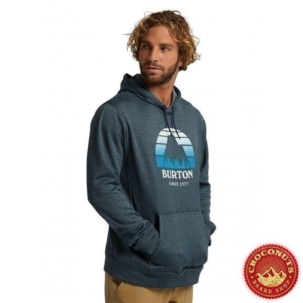 Fleece Burton OAK Seasonal Dressed Blue Heather 2021