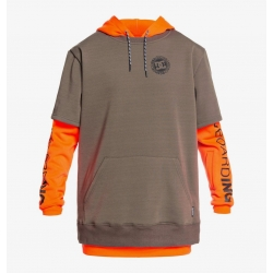 Fleece DC Shoes Dryden Shocking Orange 2021 pour homme, pas cher