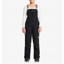 Pantalon DC Shoes Collective BIB Black 2021 pour femme, pas cher