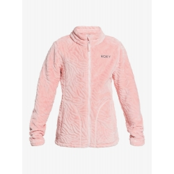 Fleece Roxy Igloo powder pink 2021 pour junior, pas cher