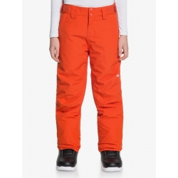 Pantalon Quiksilver Estate Pureed Pumpkin 2021 pour junior, pas cher