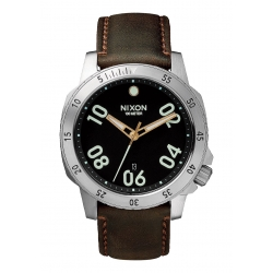 Montre Nixon Ranger Leather Black / Brown 2016