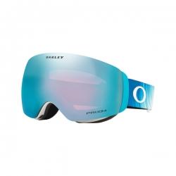 Masque Oakley Flight Deck XM Shiffrin Aurora Prizm Sapphire 2021 pour homme