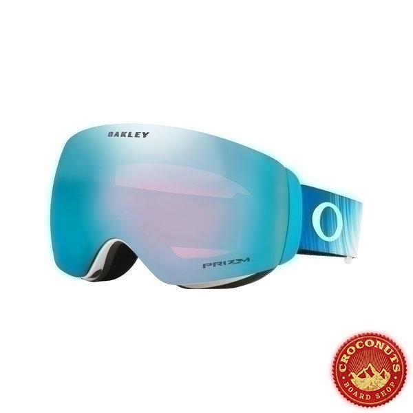 Masque Oakley Flight Deck XM Shiffrin Aurora Prizm Sapphire 2021