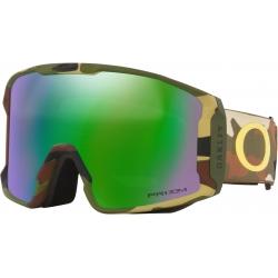 Masque Oakley Line Miner Sammy Carlson Camo Green Prizm Jade 2022 pour homme