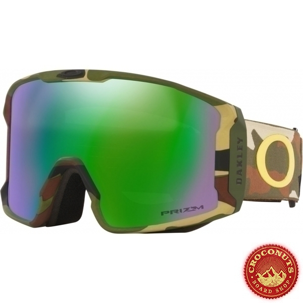 Masque Oakley Line Miner Sammy Carlson Camo Green Prizm Jade 2022