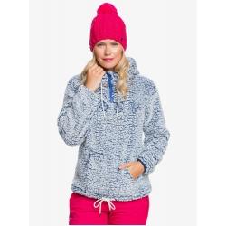 Fleece Roxy Pluma Mazarine Blue 2021 pour femme, pas cher