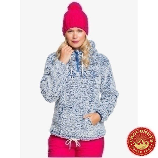 Fleece Roxy Pluma Mazarine Blue 2021