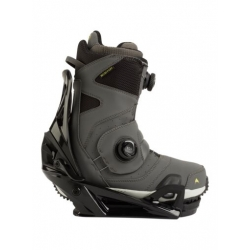 Pack Boots Burton STEP ON Photon Gray + Fixations Burton STEP ON Black 2021 pour homme, pas cher