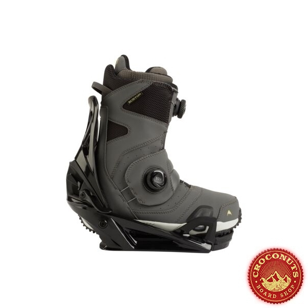 Pack Boots Burton STEP ON Photon Gray + Fixations Burton STEP ON Black 2021