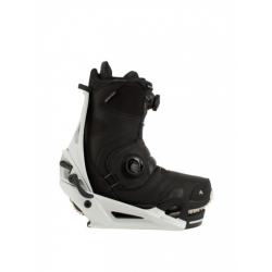 Pack Boots Burton STEP ON Photon Black + Fixations Burton STEP ON Gray 2021 pour homme
