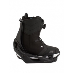 Pack Boots Burton STEP ON Limelight Black + Fixations STEP ON Black 2021 pour femme, pas cher