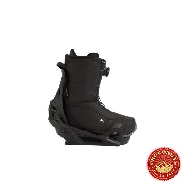 Pack Boots Burton STEP ON Ruler Black + Fixations Burton STEP ON Black 2021